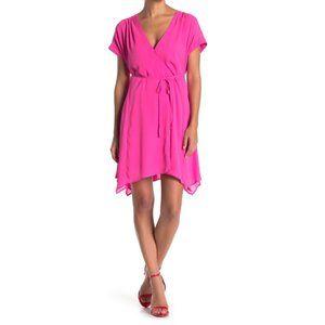 ONE ONE SIX Waist Tie Wrap Style Mini Dress
